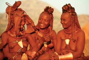 Himba women (c) National Geographic